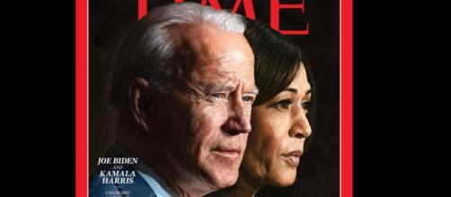 Democratas Joe Biden e Kamala Harris são as personalidades do ano. (Arquivo Blasting News)