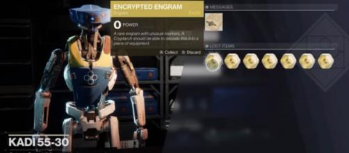 It's still not clear what causes this Engram glitch in 'Destiny 2.' © MoreConsole/YouTube]