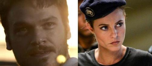 Rubinho e Jeiza em 'A Força do Querer'. (Reprodução/ TV Globo)