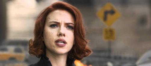 Black Widow played by Scarlet Johansson © Marvel Entertainment/YouTube Screencap