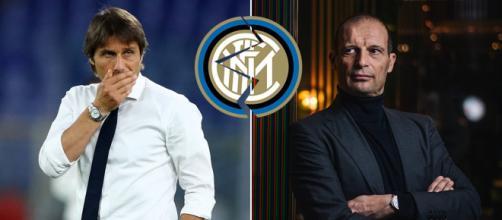 Conte infastidito per possibili contatti tra Inter e Allegri
