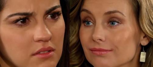 Maria flagra Max e Helena se beijando. (Televisa)