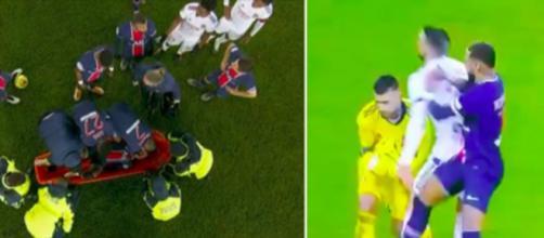 Neymar et Lopes ont enflammé les réseaux sociaux lors de PSG OL - © Photos captures d'écran vidéo