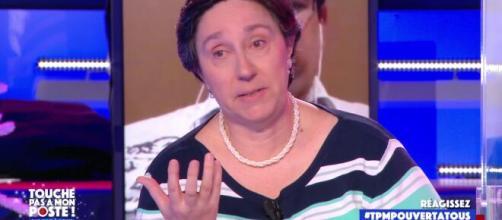 TPMP : Danielle Moreau émue en évoquant sa mère atteinte d'Alzheimer. ©C8 Capture