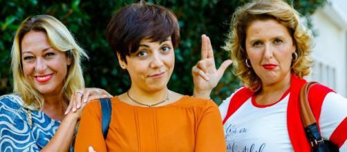 Un posto al sole: Bice (Lara Sansone), Mariella (Antonella Prisco) e Cinzia (Veronica Mazza).