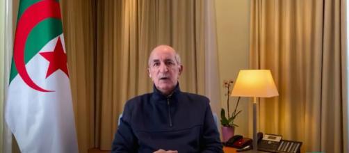 Algérie : Abdelmadjid Tebboune fait son retour à la télévision. ©France24 capture video