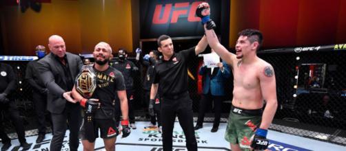 Figueiredo y Moreno dieron una de las mejores peleas en la historia de los pesos mosca - www.ufcespanol.com