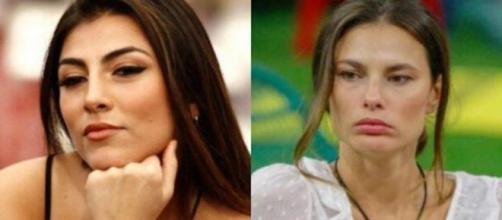GF Vip, Giulia Salemi elegge Dayane la più antipatica, lei sbotta: 'Sei fuori, ti nomino'.