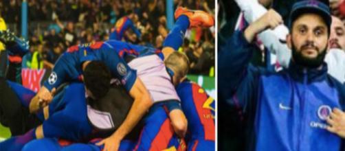 Malik Bentalha souhaite voir un Paris sans pitié face au Barça en Ligue des champions. ©Capture