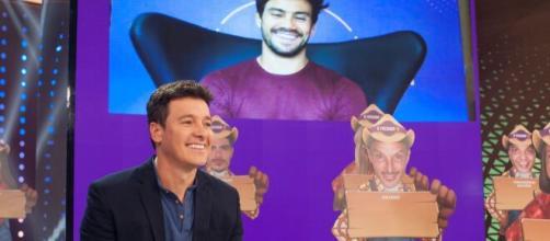 Mariano passa por constrangimento em programa do 'Hora do Faro', segundo colunista. (Reprodução/RecordTV)