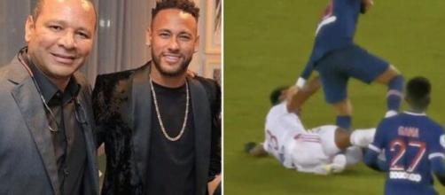 'P**ain, jusqu'à quand?', le père de Neymar explose après la blessure de la star du PSG. ©NeymarJR/Capture Twiiter Paris-Saint-Germain