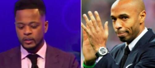 Patric Evra balance une histoire bien croustillante concernant Thierry Henry - Photo capture d'écran Vidéo et Instagram Thierry Henry