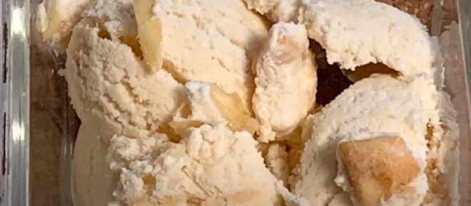 Bourbon apple ice cream recipe
