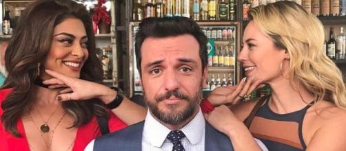 """Bibi, Caio e Jeiza em """"A Força do Querer"""". (Reprodução/TV Globo)"""