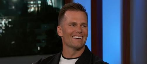 Brady had two TD passes vs Vikings (©Jimmy Kimmel Live/YouTube)