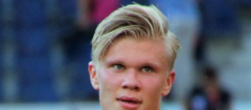 Erling Haaland piace alla Juventus.