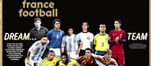 France Football dio a conocer al mejor XI de la historia del fútbol