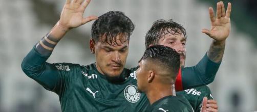 Gustavo Gómez é um dos líderes do elenco do Palmeiras. (Arquivo Blasting News)