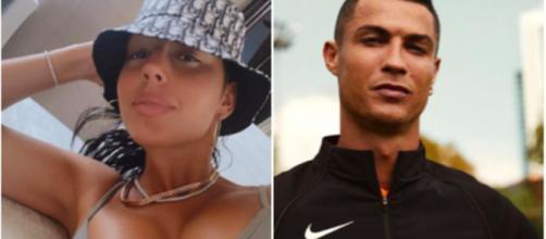 La femme de Cristiano Ronaldo fait monter la température - Photo montage