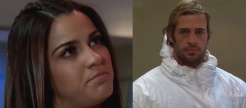 Maria confessa que dormiu com Max. (Televisa)