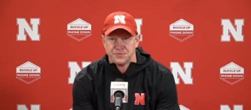 Media shreds Adrian Martinez and McCaffrey, Scott Frost comes at rescue. [Image Source: HuskerOnline Video/ YouTube]