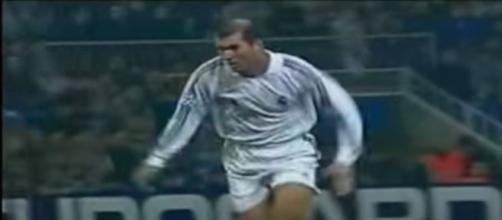 Zizou absent de la liste du XI de légende l'UEFA - ©capture d'écran vidéo youtube