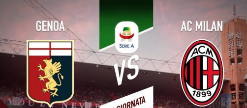 Calcio, Serie A, Genoa-Milan è finita 2-2.