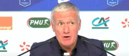 Didier Deschamps met en garde les joueurs de l'équipe de France - © capture d'écran Vidéo FFF