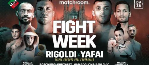 Milano Boxing Night: Rigoldi vs Yafai, giovedì 17 dicembre in diretta su DAZN