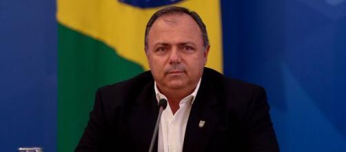 Pazuello fala sobre termo de responsabilidade para vacinação. (Arquivo Blasting News)