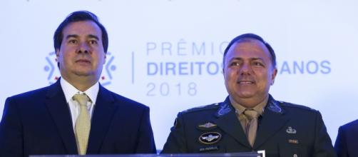 Rodrigo Maia critica Pazuello. (Arquivo Blasting News)