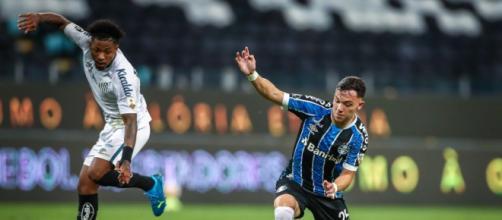 Santos e Grêmio decidrão quem vai passar a próxima fase da Libertadores, ambos aguardaram o vencedor de Racing x Boca