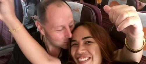 '90 Day Fiancé': David reacts on making Annie pregnant. [Image Source: TLC/YouTube]