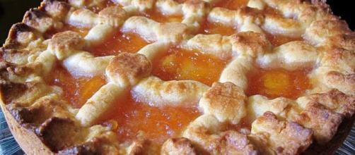 Crostata di pere all'Armagnac, un dolce diverso dai soliti per Natale.