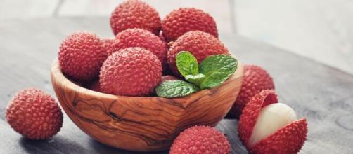 El lichi tiene vitaminas y minerales buenos para la salud