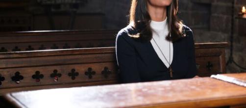 Francesca Chillemi in Che Dio ci aiuti 6 indosserà gli abiti da novizia.