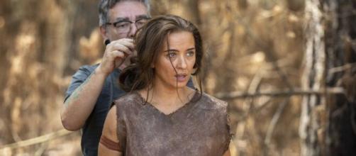 Juliana Boller faz parte do elenco de 'Gênesis'. (Reprodução/RecordTV)