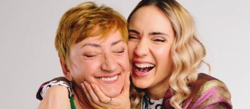 Natoo et sa mère Ursula © Nato_o sur Twitter
