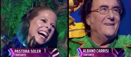 Pastora Soler y Albano Carrisi desenmascarados en 'Mask Singer'