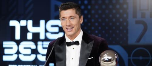 Robert Lewandowski ganó su primer premio The Best de la FIFA.