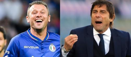Cassano attacca Antonio Conte: 'L'Inter non è una grande squadra'.