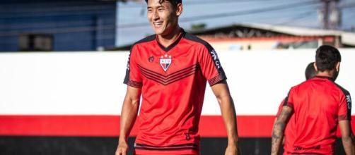 Chico mostra potencial para jogar em clubes maiores na Série A. (Arquivo Blasting News)