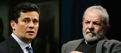 Livro diz que Moro agiu para impedir a candidatura de Lula à presidência em 2018. (Arquivo Blasting News)