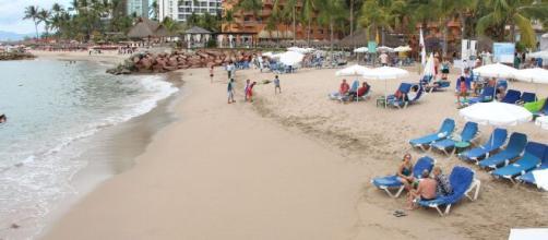 Puerto Vallarta comenzó a recibir turistas, en medio de la pandemia de coronavirus.