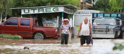 Tormenta tropical Hernán dejó lluvias e inundaciones este año en seis estados mexicanos.