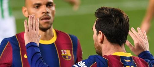Lionel Messi comes off bench to score twice in Barcelona win ... - skysports.com