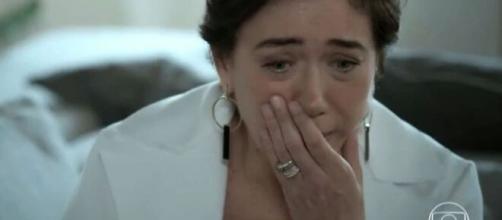 Silvana ficará em pânico em 'A Força do Querer'. (Foto: Globo)