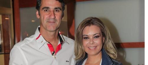 El torero Jesulín de Ubrique y María José Campanario.
