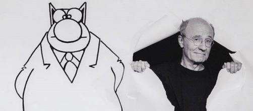 Philippe Geluck a sorti son 23e album du Chat (©Twitter Philippe Geluck)