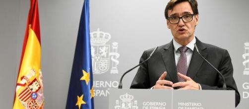 Salvador IIla, ministro de Sanidad.